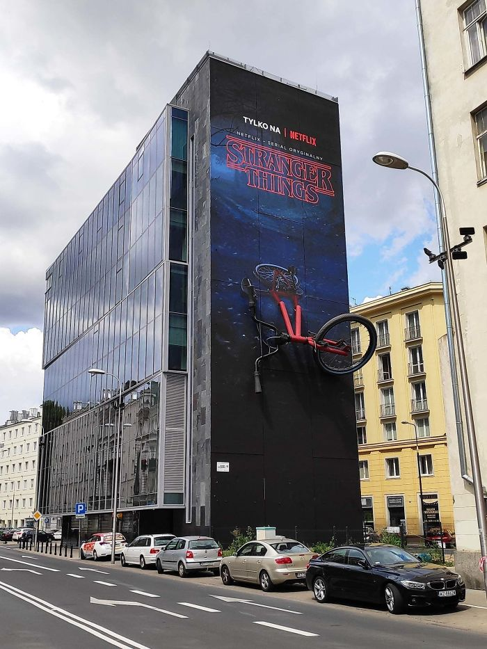 An Ad In Warsaw, Poland