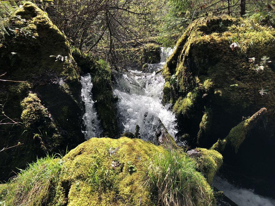 Waterfalls Abound Glide, Or