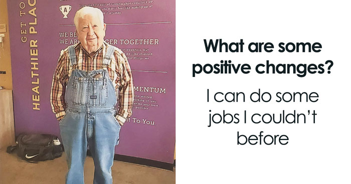 91-Year-Old Grandpa Starts Going To The Gym 3 Times A Week, Proves It's Never Too Late To Get Into Fitness