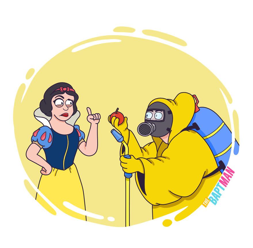 Snow White And Pesticides