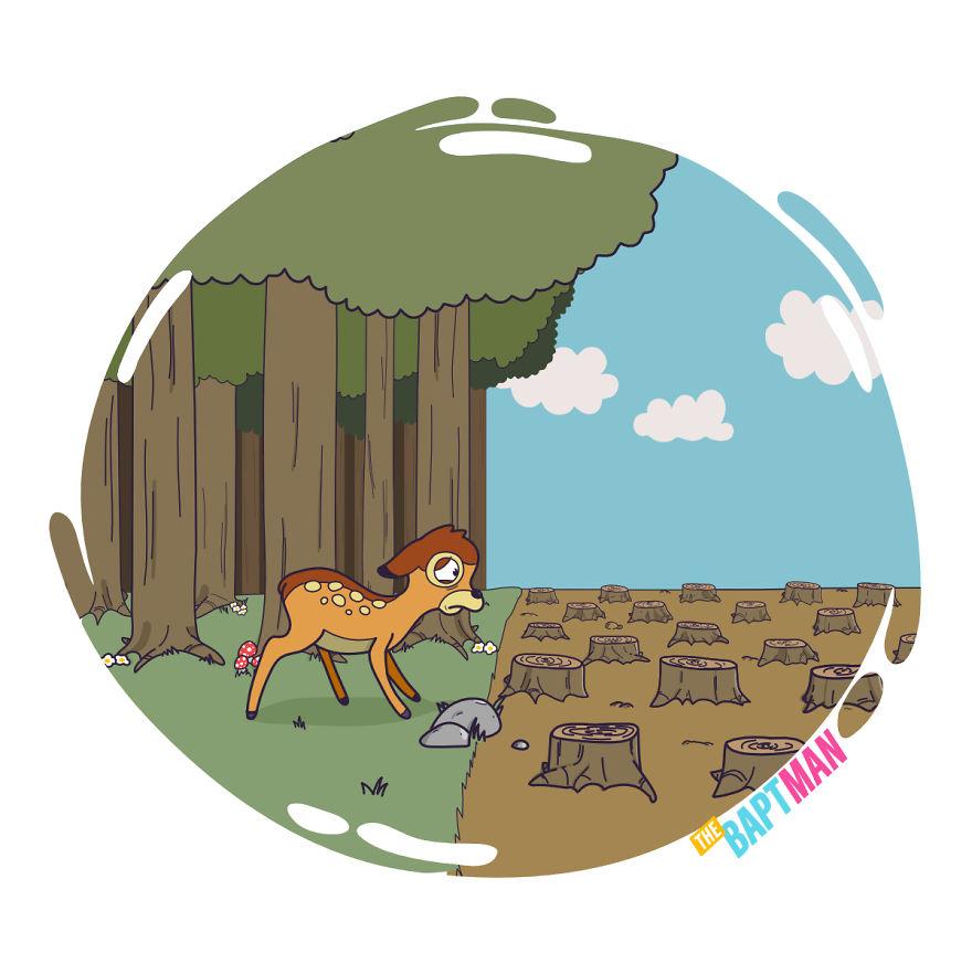Bambi And Deforestation