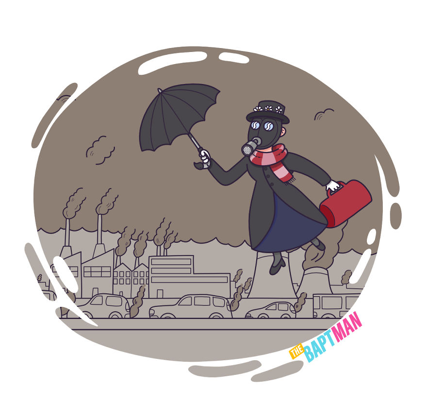 Mary Poppins And Pollution