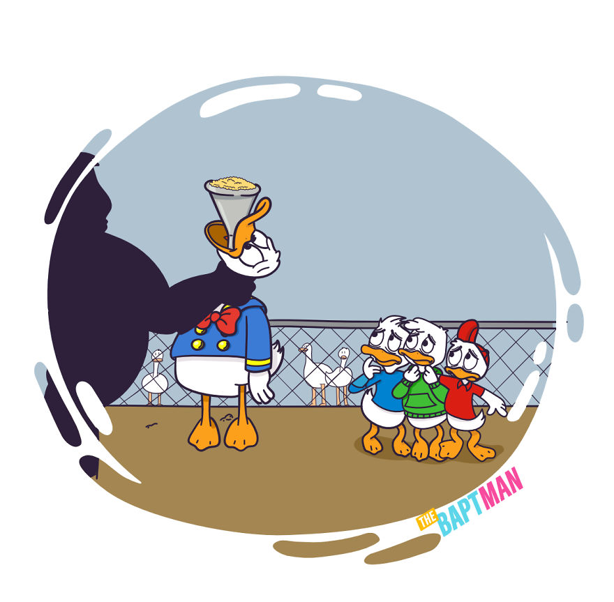 Donald Duck, Force-Feeding And Foie Gras