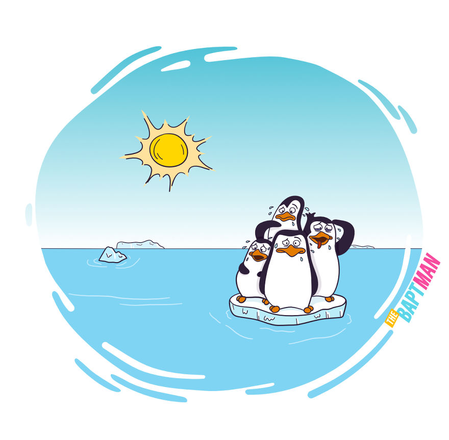 Penguins And Global Warning