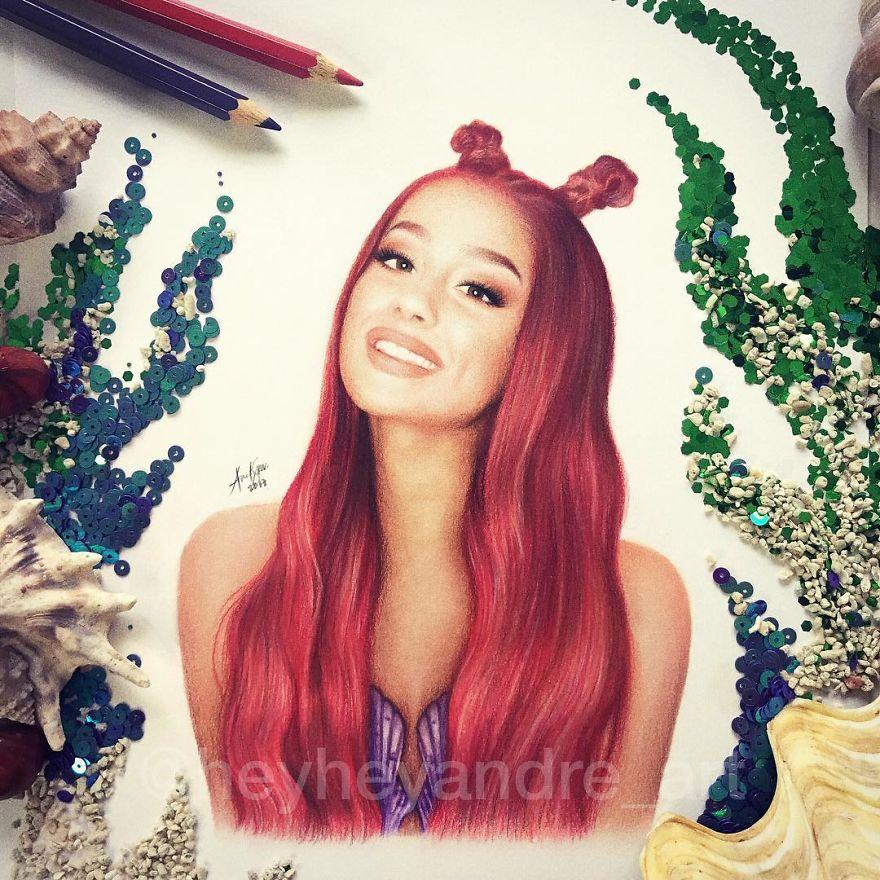 Ariana Grande As Ariel