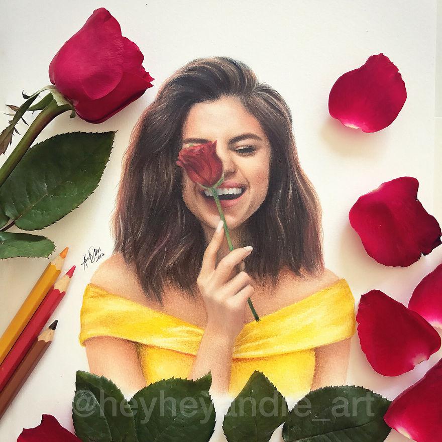 Selena Gomez As Belle