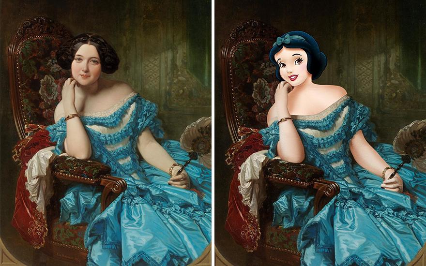 Amalia De Llano / Snow White