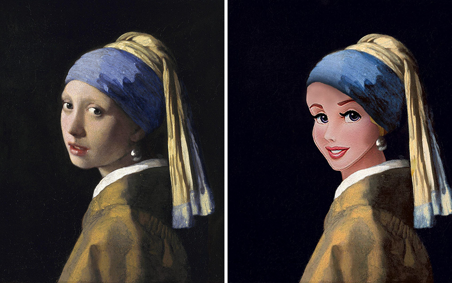Girl With A Pearl Earring / Sleeping Beauty