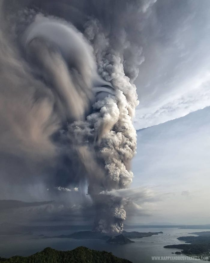 Taal Eruption