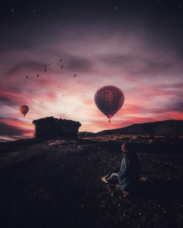 I'm A 23-Year-Old Turkish Guy Who Turns His Dreams Into Pictures