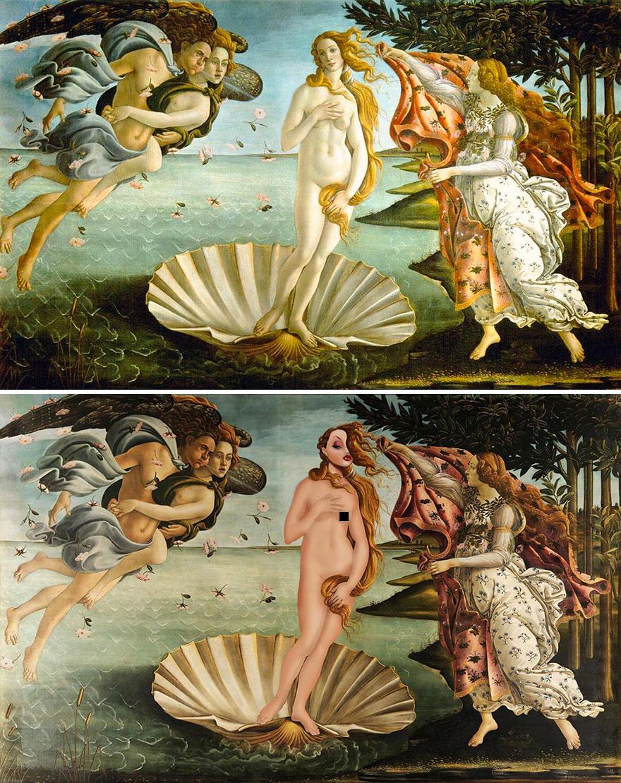 Birth Of Venus / Jessica Rabbit