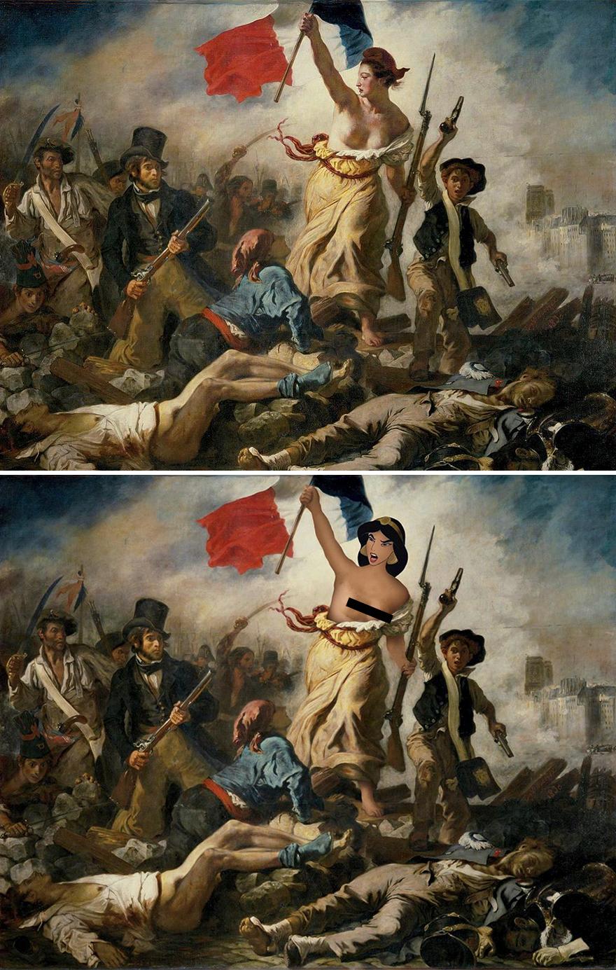 Liberty Leading The People / Jasmine