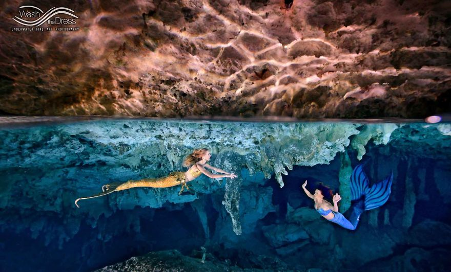 What Happened When I Discovered Two Mermaids In Mexico's Cenotes