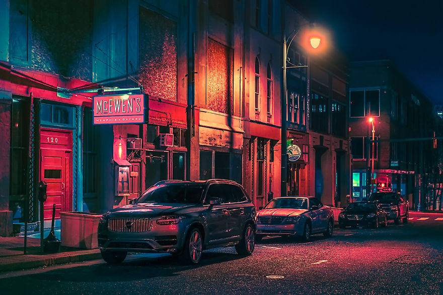 Memphis Scene, Downtown