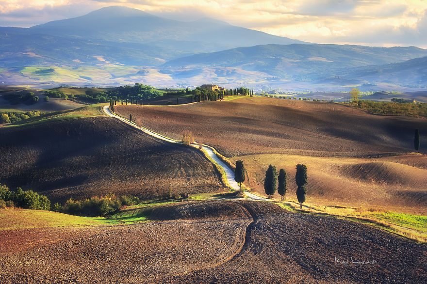 Amazing Undulating Land — Tuscany Through My Eyes