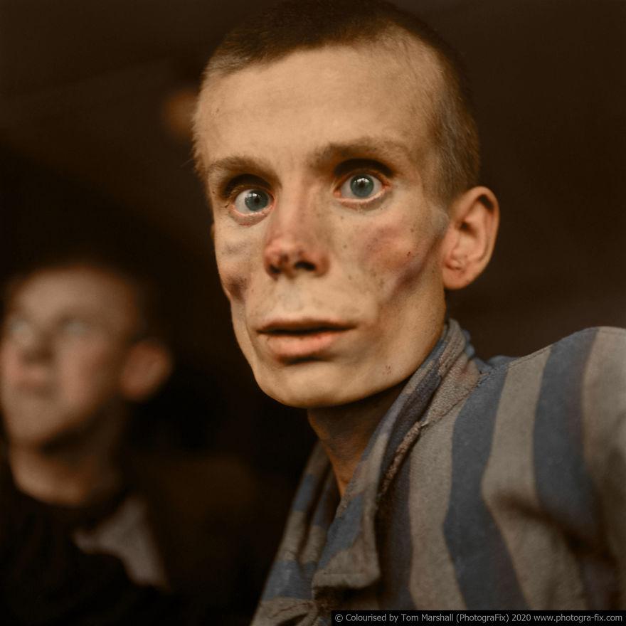 My 10 Colourised Photos Show The True Horror Of The Holocaust