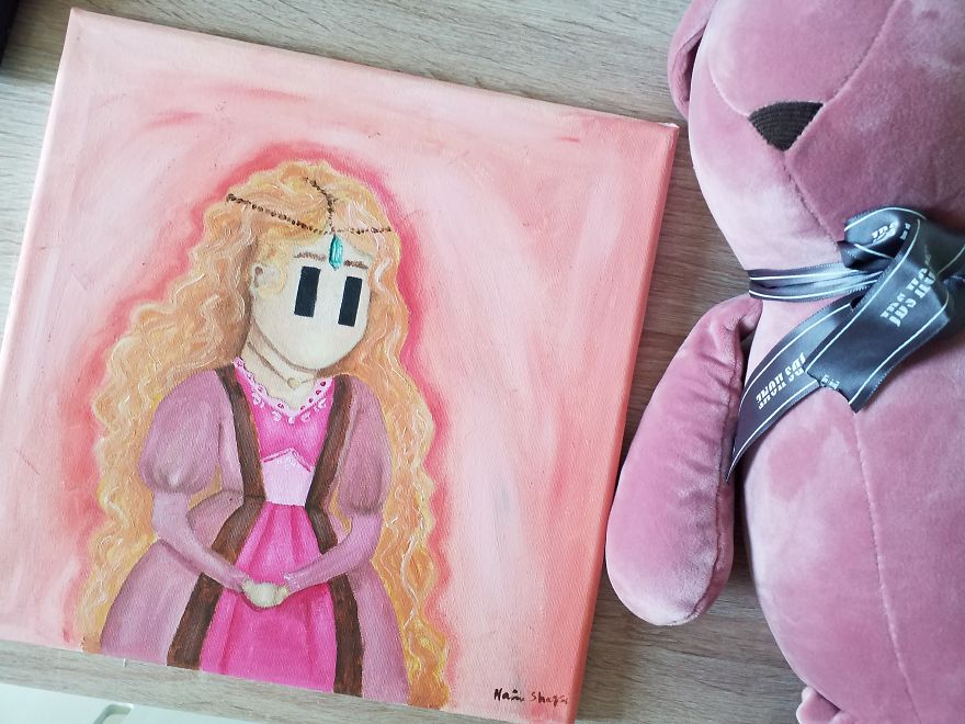 I Turn My Lucid Dreams Into Whimsical Paintings