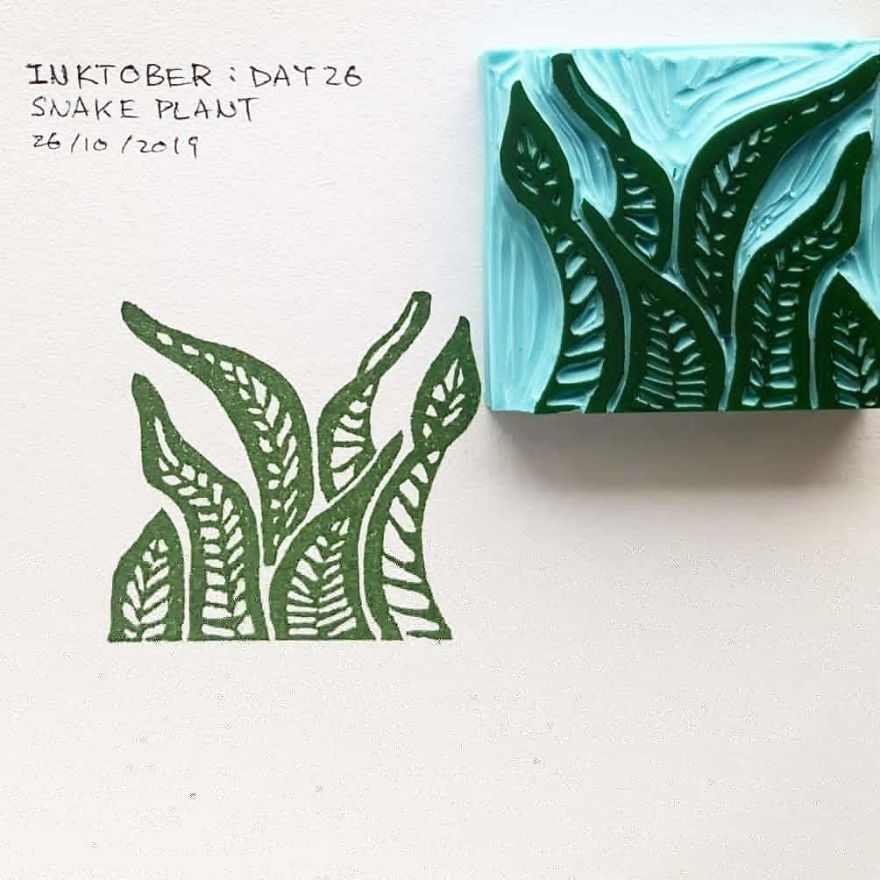 I Made Art With A £5 Rubber Stamp DIY Kit