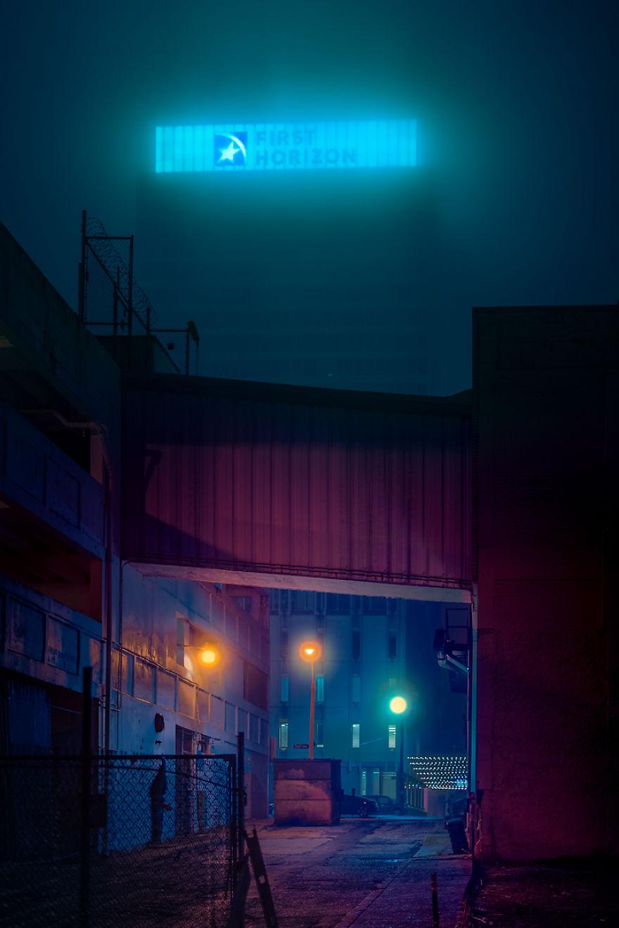 Dystopian Reality, Downtown