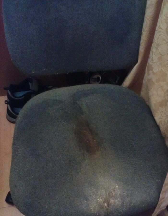 """The winner of """"The worst hotel chair"""" award"""