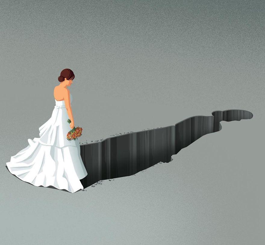 How My Depression Ruined My Wedding