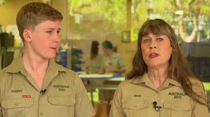 Robert Irwin Struggles To Hold Back Tears While Discussing The Impact Of The Australian Bushfires