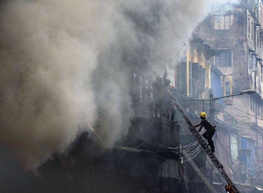 Fire @ Kolkata