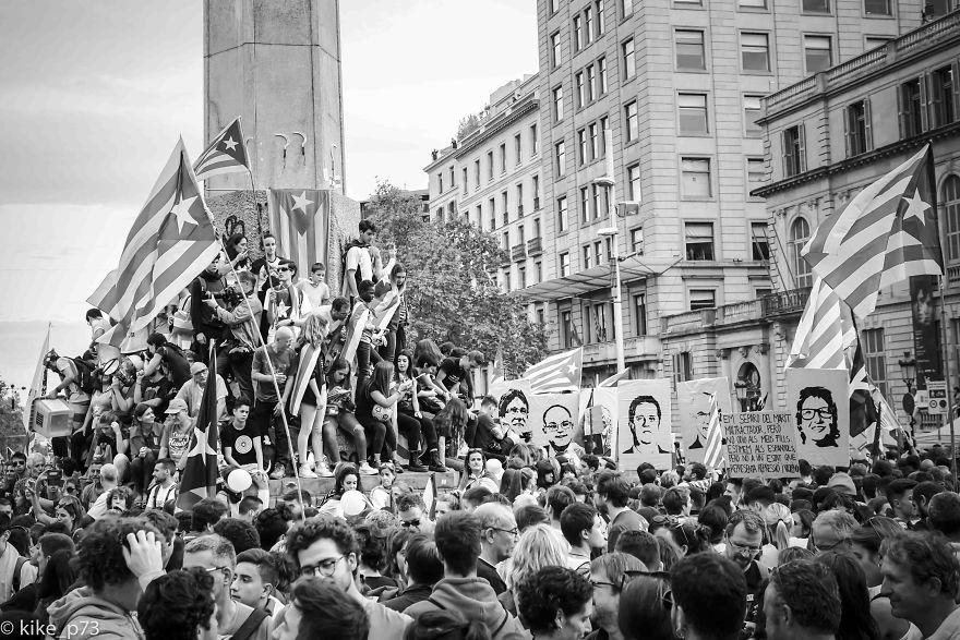 Demonstrations In Barcelona