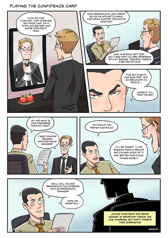 These 6 Comics Perfectly Illustrate The Reality Of A Job Search