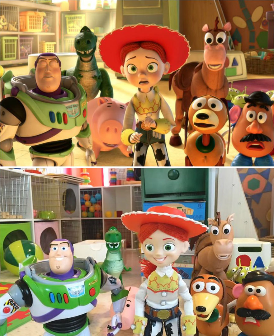 these brothers recreated the whole movie of toy story 3