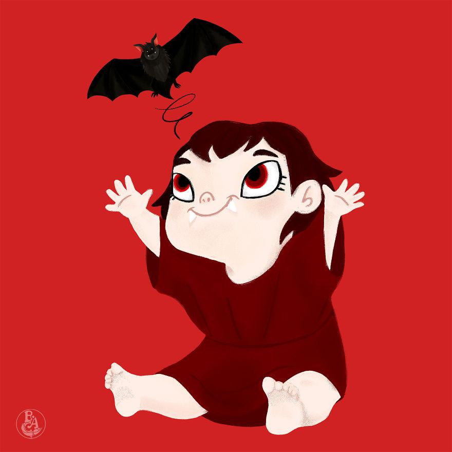 Baby Vampire Girl
