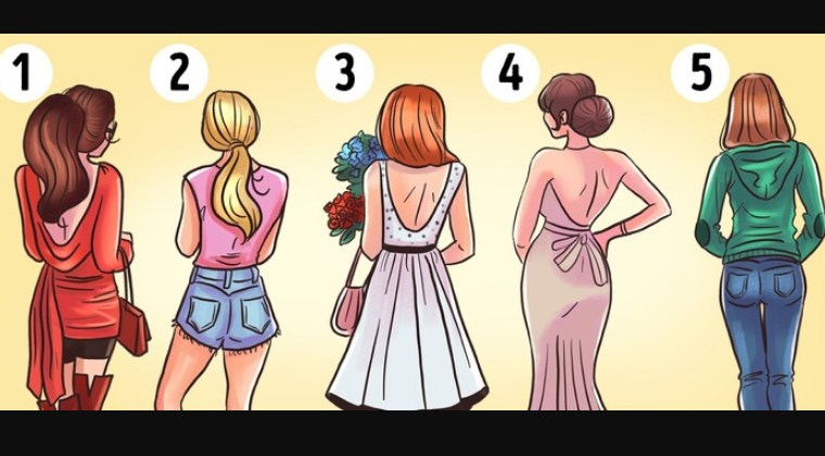 Which Girl Will Be Most Attractive When They Turn Around Learn What Your Choice May Say About You