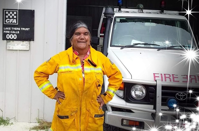 This All-Female, All-Indigenous Australian Firefighting Crew Works 24/7 To Protect Their Sacred Land From Flames