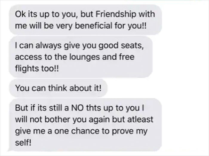 Passenger Sues Airline Employee Who Took Her Number From Her Luggage Tag And Sent Her Creepy Texts