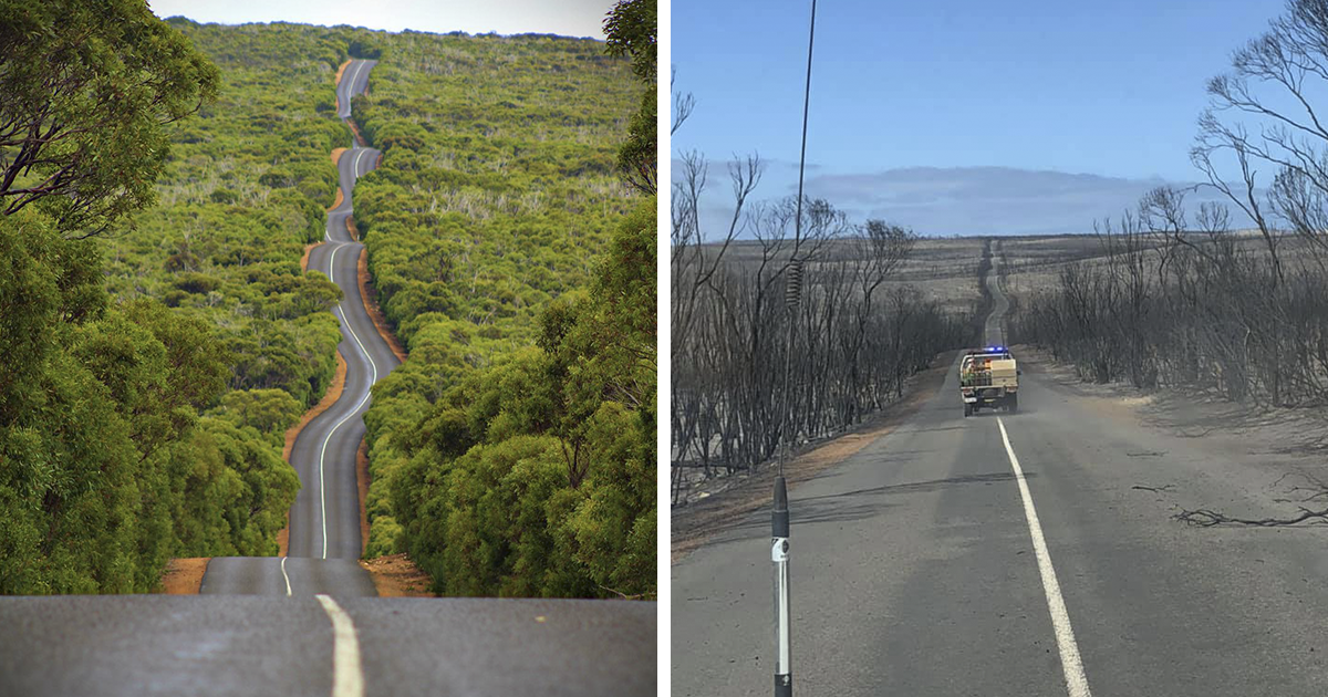 21 Before And After Photos That Show The Devastating Impact Of Bushfires In Australia