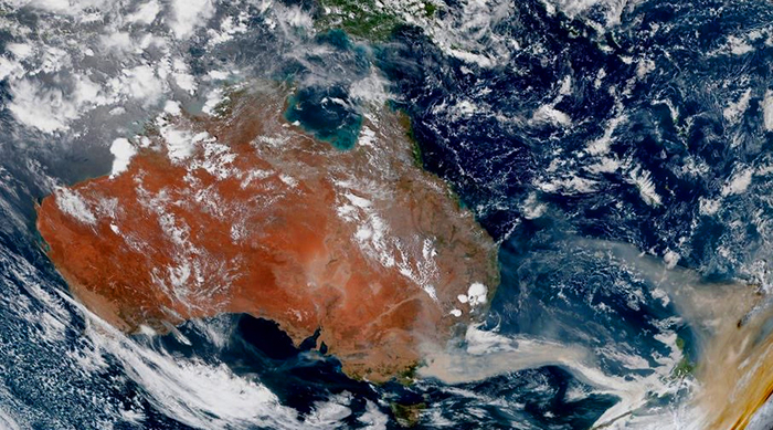 Shocking Satellite Photos Reveal the True Extent Of The Australian Bushfires