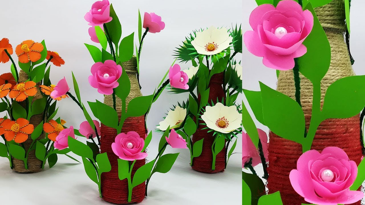 Easy And Beautiful Paper Flower Making Tutorial