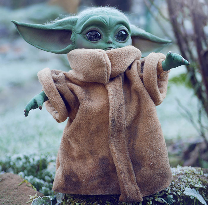 I Made A Baby Yoda Doll Entirely From Materials That I Found At Home