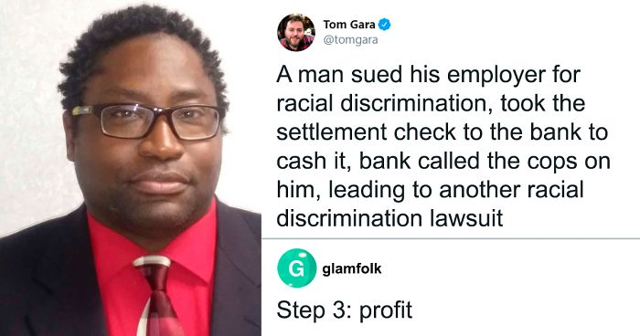 Bank Calls Cops On Black Client Trying To Deposit Checks From A Racial Discrimination Lawsuit
