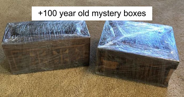 Over 100-Year-Old Mystery Boxes From A Bank Robber In Leavenworth Prison Are Finally Opened