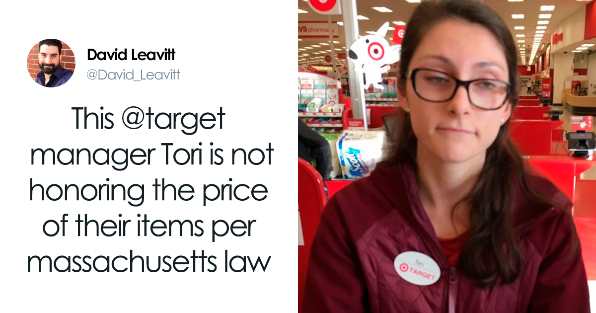 Guy Gets Dragged For Calling Police On A Target Worker Over A Toothbrush
