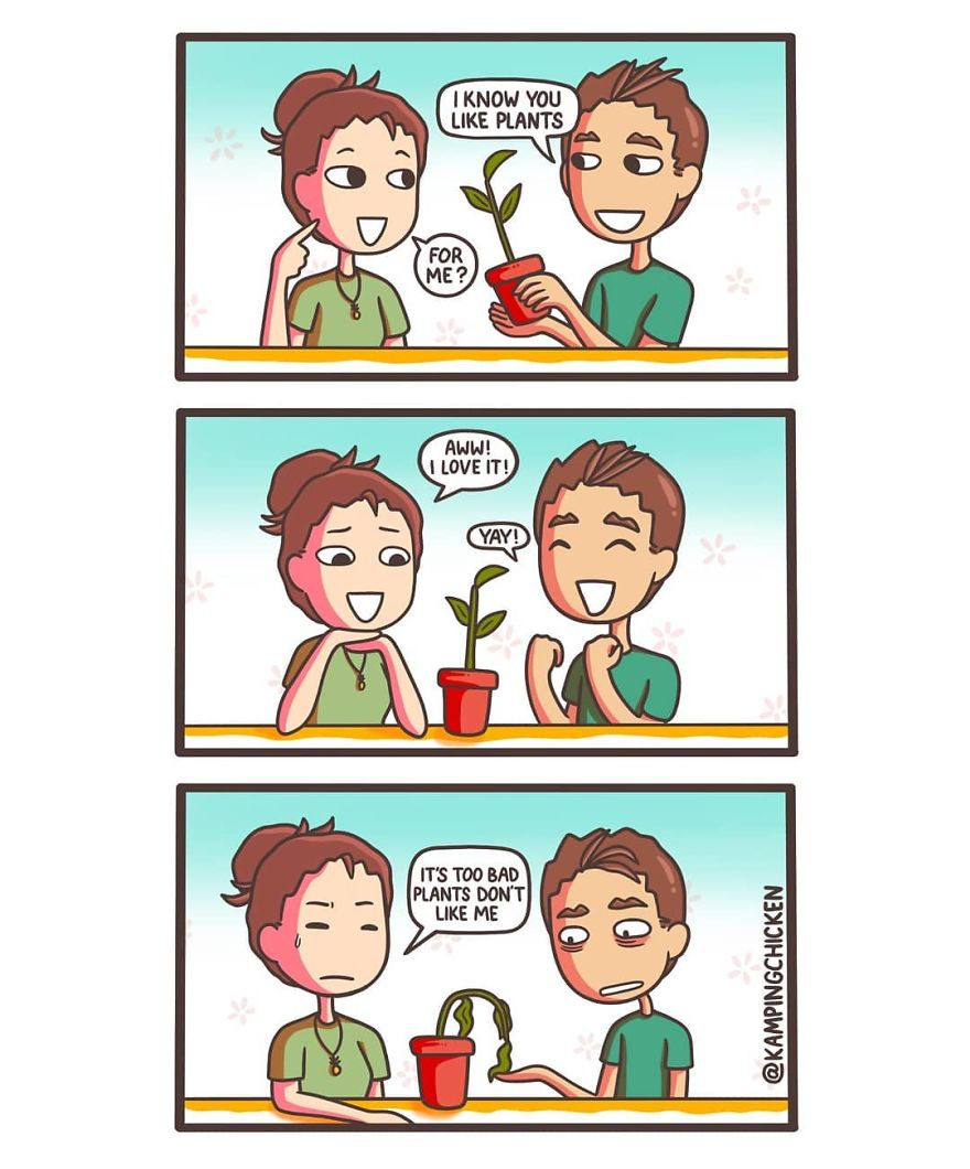 Better At Growing Friendships Than Plants
