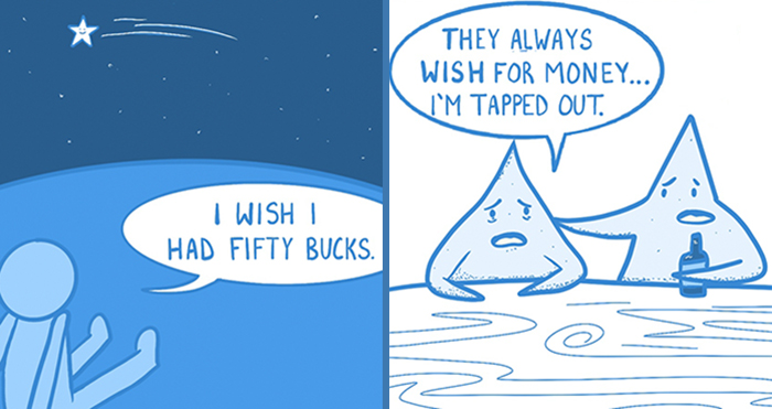 I've Started A Comical Webcomic Series Called 'OkBlue', And Here Are 38 Of My Faves So Far