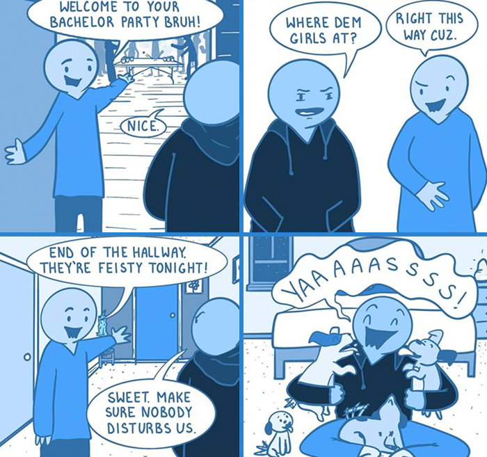 My 30 OkBlue Comics That Are A Result Of Insomnia And Boredom
