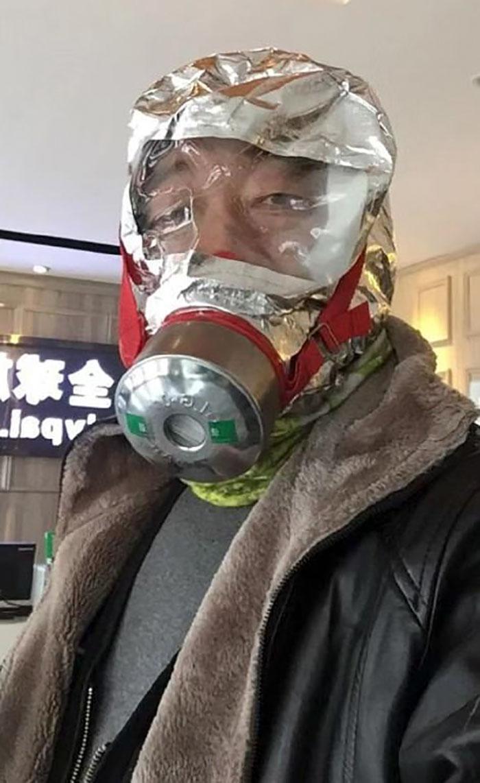 korona virus maske