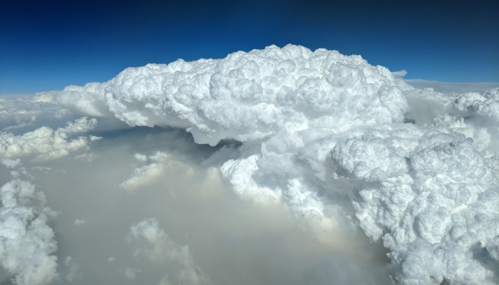 I Am An Airline Pilot, Photographing The Pyrocumulus Clouds Created By The Devastating Australian Bushfires