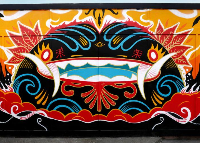 Psychedelic London Street Art