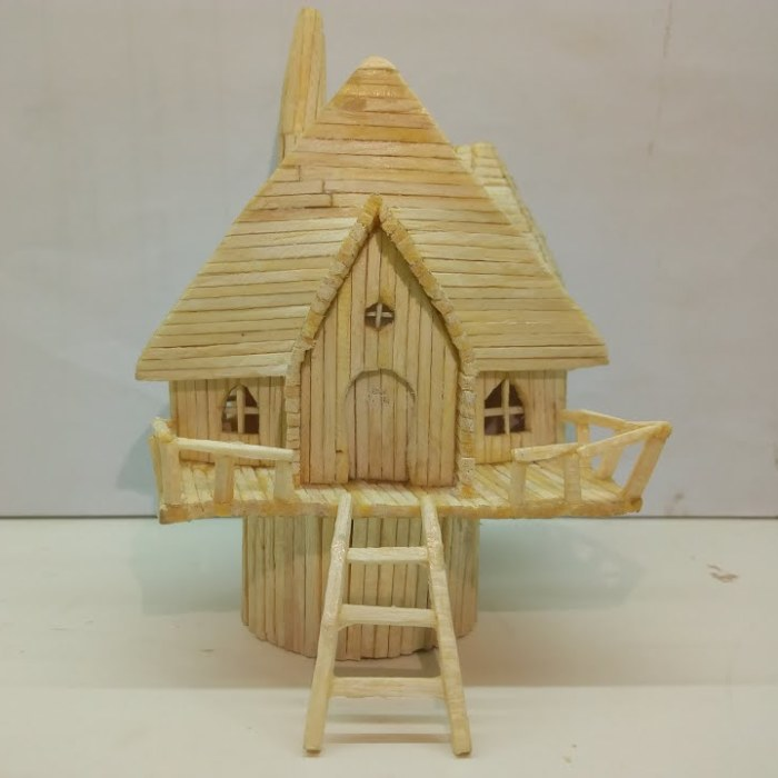 I Made A Miniature Fairy House Using Matches