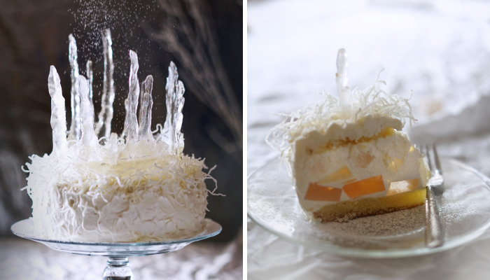 I Made This White Witch Turkish Delight Cake In Honor Of My Favorite Winter Fairytale
