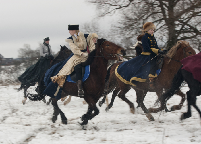 The Peculiarities Of The Historical Reenactment Of Horse-Hunts Held By Russian Aristocracy